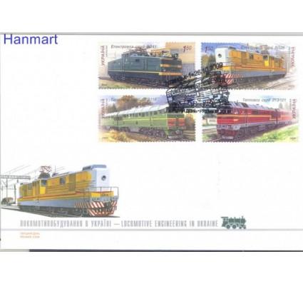 Znaczek Ukraina 2009 Mi 1042-1045 FDC