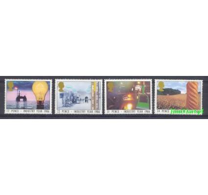 Wielka Brytania 1986 Mi 1056-1059 Czyste **