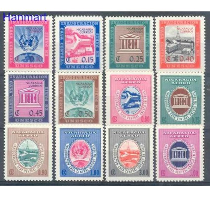 Znaczek Nikaragua 1958 Mi 1208-1219 Czyste **