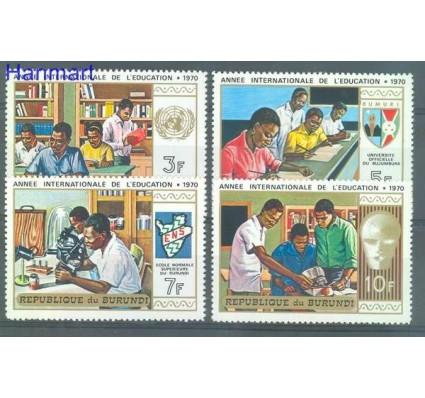Znaczek Burundi 1970 Mi 657-660 Czyste **