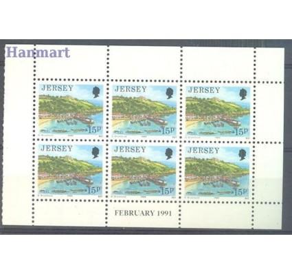 Jersey 1989 Mi h-blatt 470 Czyste **