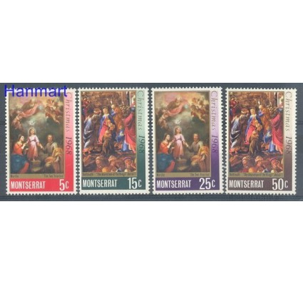 Znaczek Montserrat 1968 Mi 207-210 Czyste **