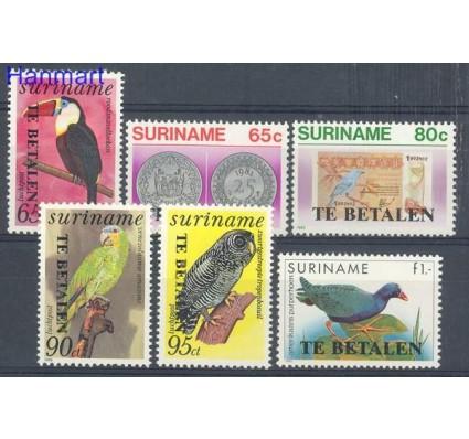 Znaczek Surinam 1987 Mi 58-63 Czyste **