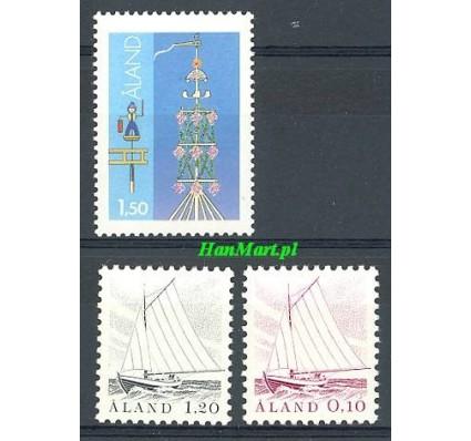 Znaczek Wyspy Alandzkie 1985 Mi 8-10 Czyste **