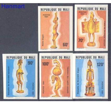 Znaczek Mali 1981 Mi 823-827B Czyste **