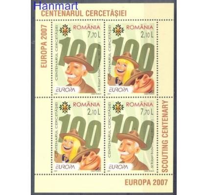 Znaczek Rumunia 2007 Mi bl 396II Czyste **