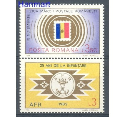Znaczek Rumunia 1983 Mi zf 3979 Czyste **