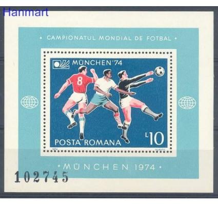 Znaczek Rumunia 1974 Mi bl 114 Czyste **