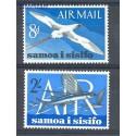Samoa i Sisifo 1965 Mi 135-136 Czyste **