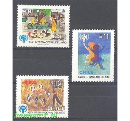 Chile 1979 Mi 913-915 Czyste **