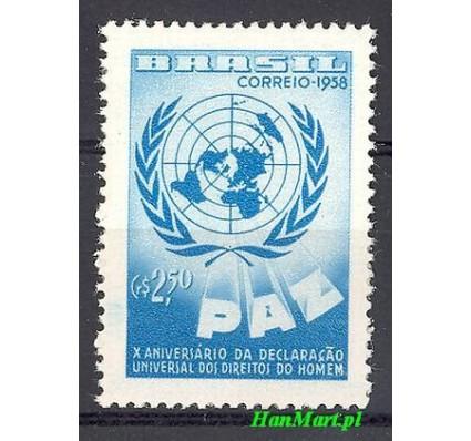 Znaczek Brazylia 1958 Mi 951 Czyste **