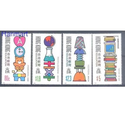 Znaczek Hong Kong 1991 Mi 611-614 Czyste **