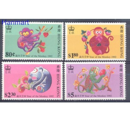 Znaczek Hong Kong 1992 Mi 632-635 Czyste **