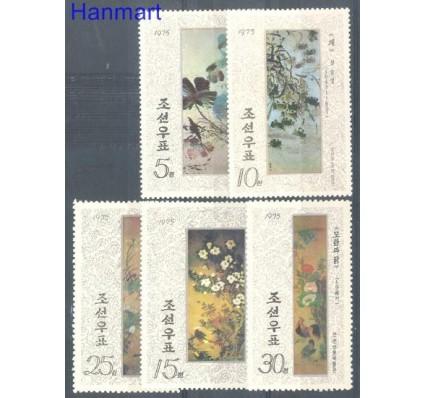 Znaczek Korea Północna 1975 Mi 1369-1373 Czyste **