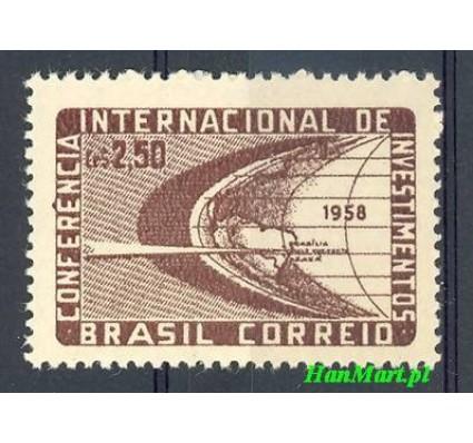 Znaczek Brazylia 1958 Mi 938 Czyste **