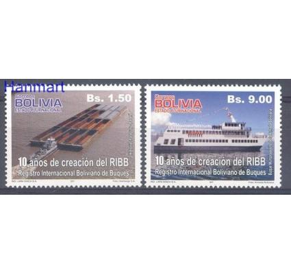 Znaczek Boliwia 2011 Mi 1839-1840 Czyste **