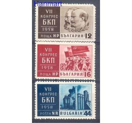 Bułgaria 1958 Mi 1064-1066 Czyste **
