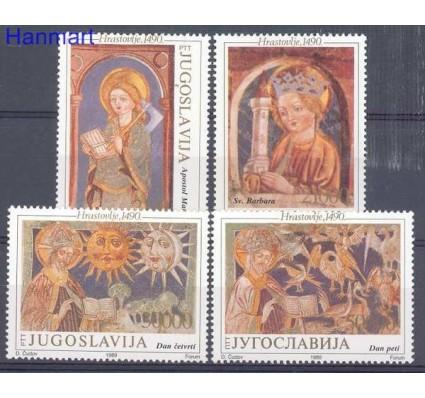 Znaczek Jugosławia 1989 Mi 2385-2388 Czyste **