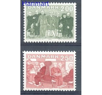 Dania 1983 Mi 788-789 Czyste **