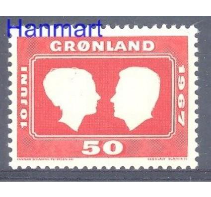 Grenlandia 1967 Mi 67 Czyste **