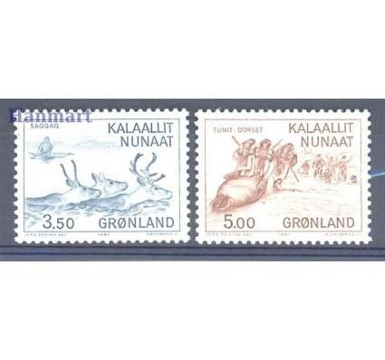 Znaczek Grenlandia 1981 Mi 131-132 Czyste **