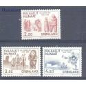 Grenlandia 1983 Mi 143-145 Czyste **