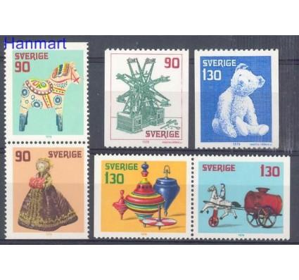 Znaczek Szwecja 1978 Mi 1045-1050 Czyste **