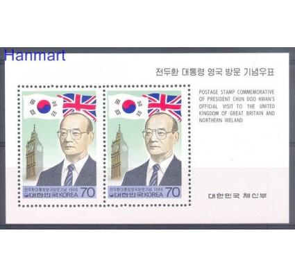 Znaczek Korea Południowa 1986 Mi bl 514 Czyste **