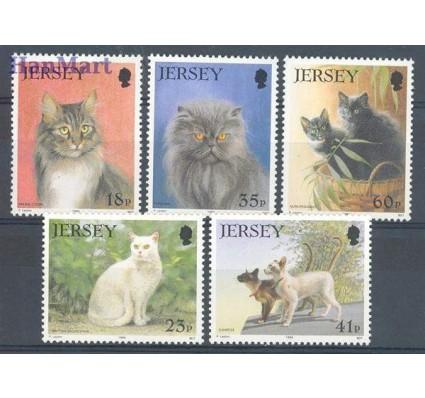 Znaczek Jersey 1994 Mi 645-649 Czyste **