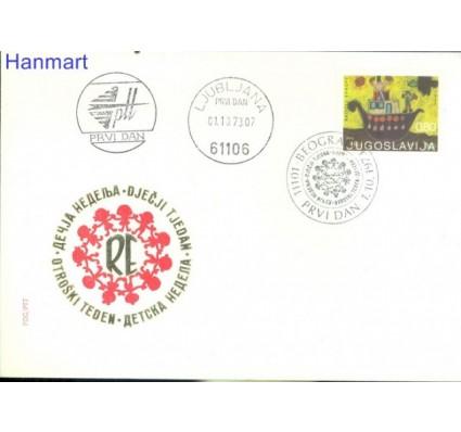 Znaczek Jugosławia 1973 Mi 1519 FDC