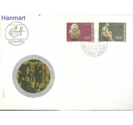 Znaczek Jugosławia 1974 Mi 1557-1558 FDC