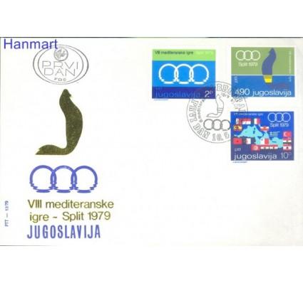 Znaczek Jugosławia 1979 Mi 1796-1798 FDC