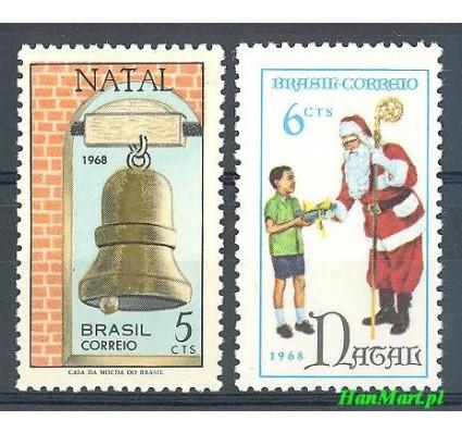 Brazylia 1968 Mi 1199-1200 Czyste **
