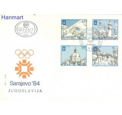 Znaczek Jugosławia 1982 Mi 1950-1953 FDC