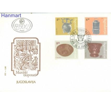 Jugosławia 1983 Mi 1969-1972 FDC