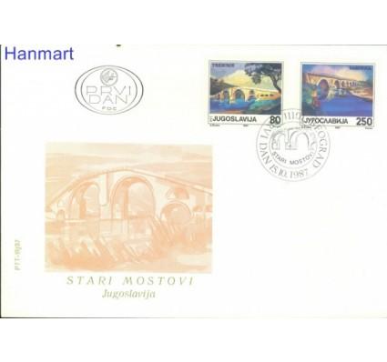 Znaczek Jugosławia 1987 Mi 2243-2244 FDC