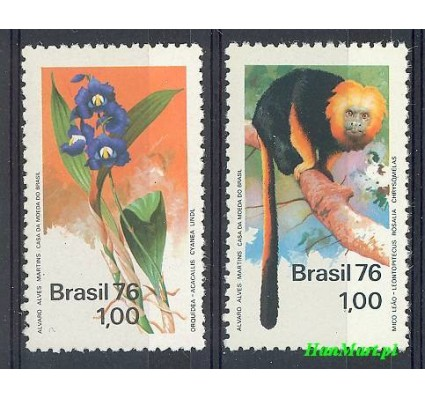 Znaczek Brazylia 1976 Mi 1534-1535 Czyste **