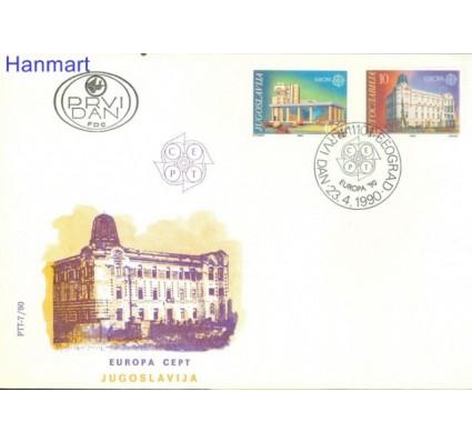 Jugosławia 1990 Mi 2414-2415 FDC