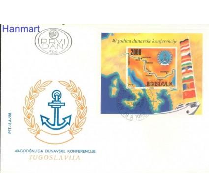 Znaczek Jugosławia 1988 Mi bl 33 FDC