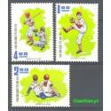 Tajwan 1971 Mi 830-832 Czyste **