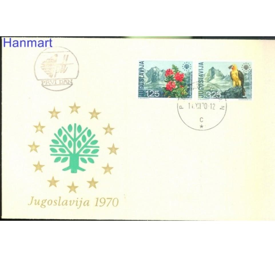 Jugosławia 1970 Mi 1406-1407 FDC