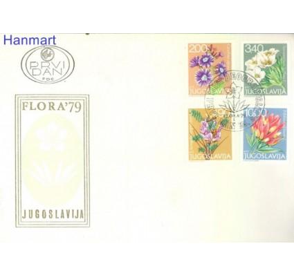 Znaczek Jugosławia 1979 Mi 1789-1792 FDC