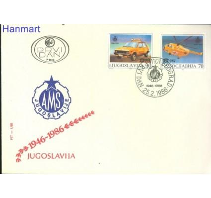 Znaczek Jugosławia 1986 Mi 2146-2147 FDC