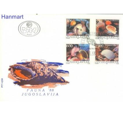 Jugosławia 1988 Mi 2275-2278 FDC