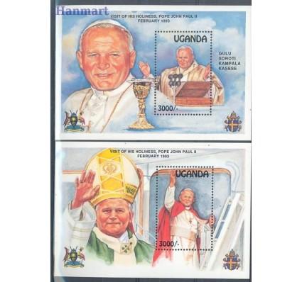 Znaczek Uganda 1993 Mi bl 182-183 Czyste **