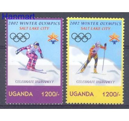 Znaczek Uganda 2002 Mi 2465-2466 Czyste **