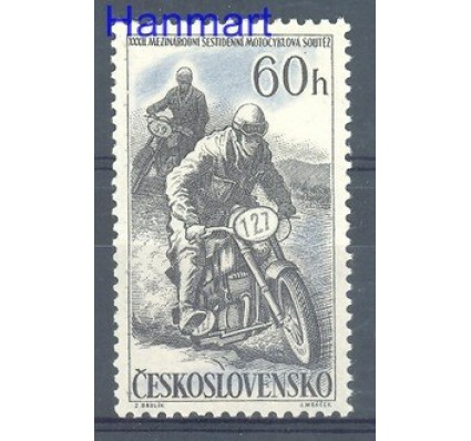 Znaczek Czechosłowacja 1957 Mi 1034 Czyste **