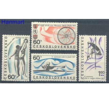Znaczek Czechosłowacja 1967 Mi 1701-1704 Czyste **