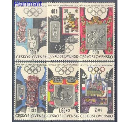 Znaczek Czechosłowacja 1968 Mi 1781-1786 Czyste **