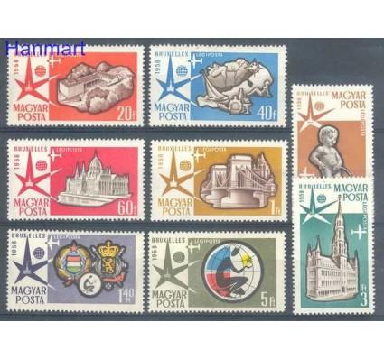 Znaczek Węgry 1958 Mi 1519-1526 Czyste **
